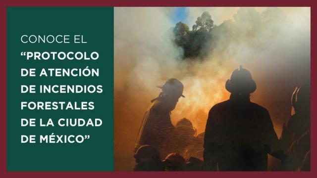 Protocolo de Atención de Incendios Forestales de la Ciudad de México