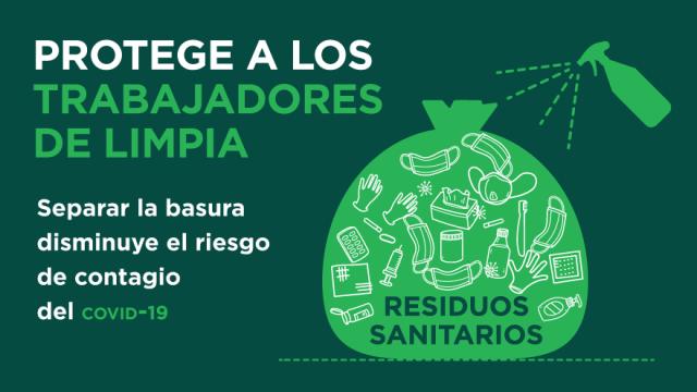 Separar los residuos puede salvar vidas
